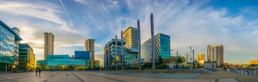 Media City in Manchester [Representation Image].