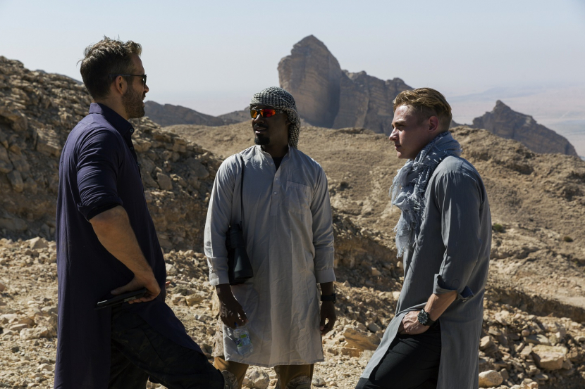 Production began in Abu Dhabi on 12 November and moved to sites in Al Ain, Liwa and Ras Al Khaimah before completing principal photography on 5 December, in the Abu Dhabi City Centre.