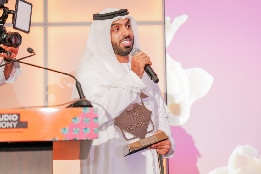 Amer Al Mahri won the award for Scriptwriting