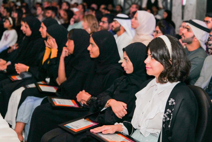 Audiences at the Al FOrsan Marriott in Abu Dhabi.