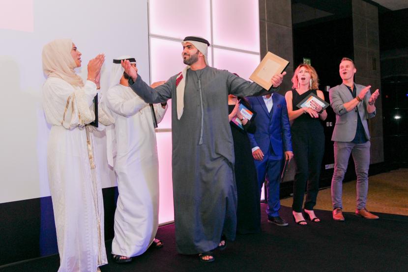 Mansour Ahmed and Arab Film Studio 2019 Narrative participants.