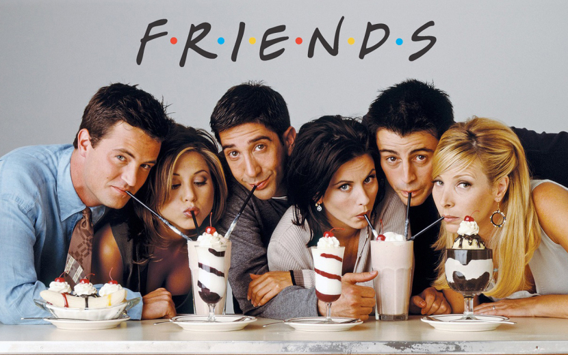 Subscribers can watch all 10 seasons of sitcom, Friends.