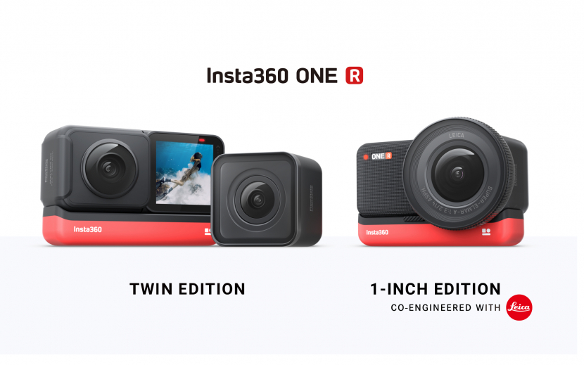 Insta360 ONE R 1-inch Edition offers a 5.3K 1-inch sensor to achieve image quality.