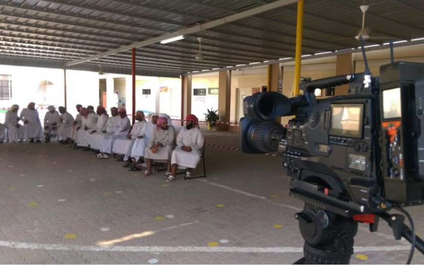 Aviwest PRO380 in use during the Al Shura elections in Oman.