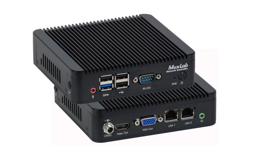 MuxLab network controller (model 500812).