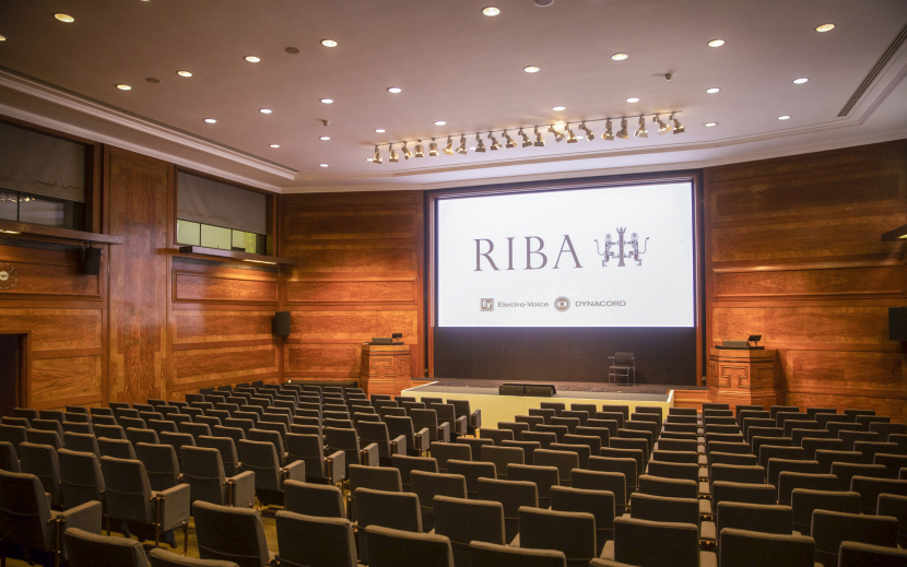 Electro-Voice EVC loudspeakers and Dynacord IPX amplifiers deliver flexible audio solution at the RIBA's Jarvis Hall.