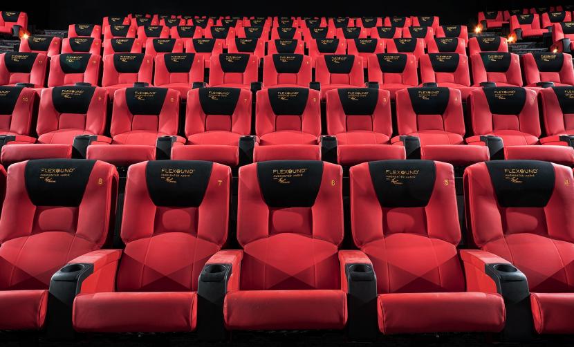 Flexound, Augmented audio Flexound, TGV Cinemas