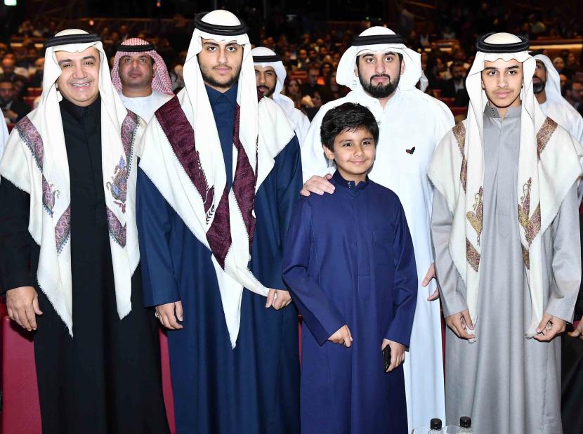 HH Sheikh Ahmad Bin Mohammed Bin Rashid Al Maktoum and Sheikh Walid Al Ibrahim.