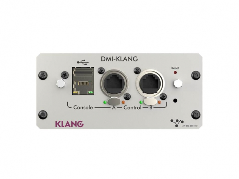 The DMI-KLANG will be on display at DiGiCo's booth 17901 from January 16 to 19, 2020.