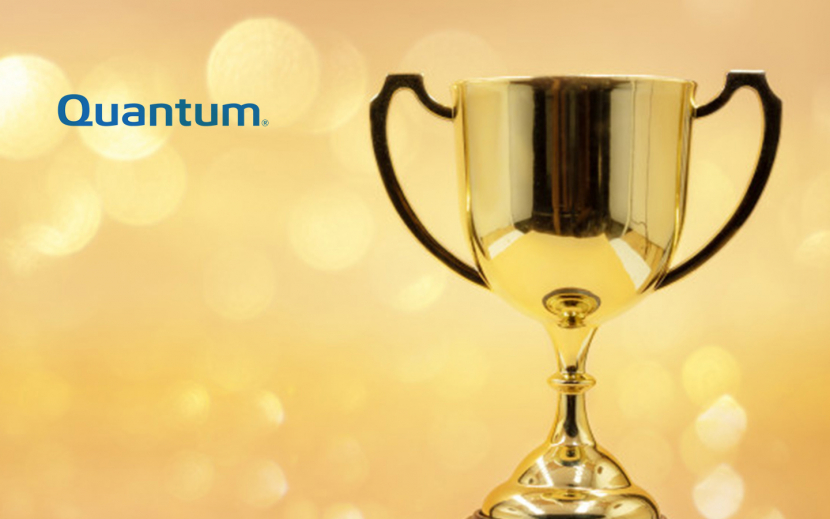 The award underscores Quantum's commitment to industry innovation and helping professionals in the media and entertainment industry.