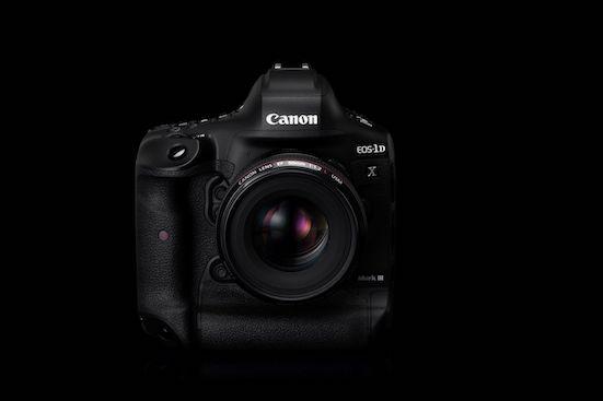 The new Canon 1DX Mark III.