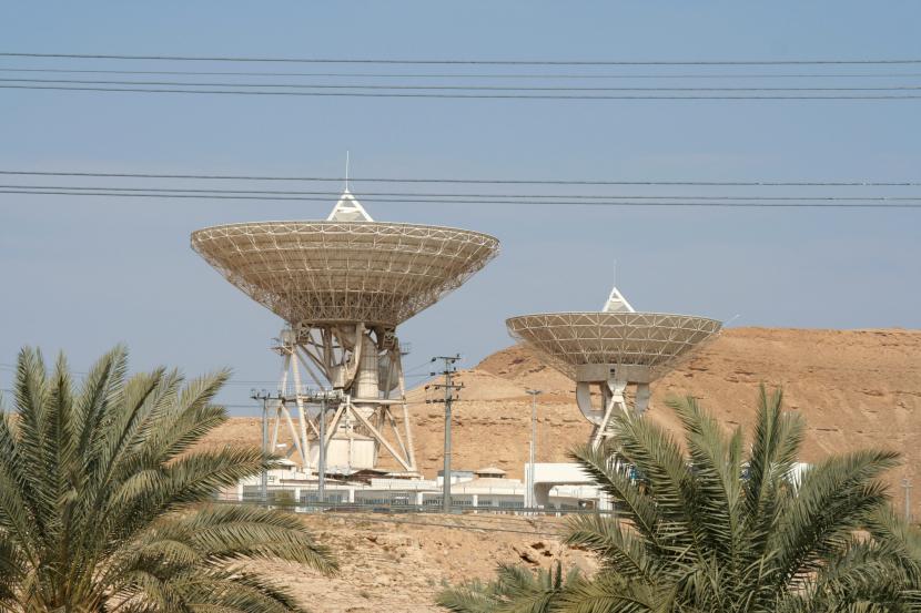 Arabsat dishes in Saudi's Riyadh [Representation image].