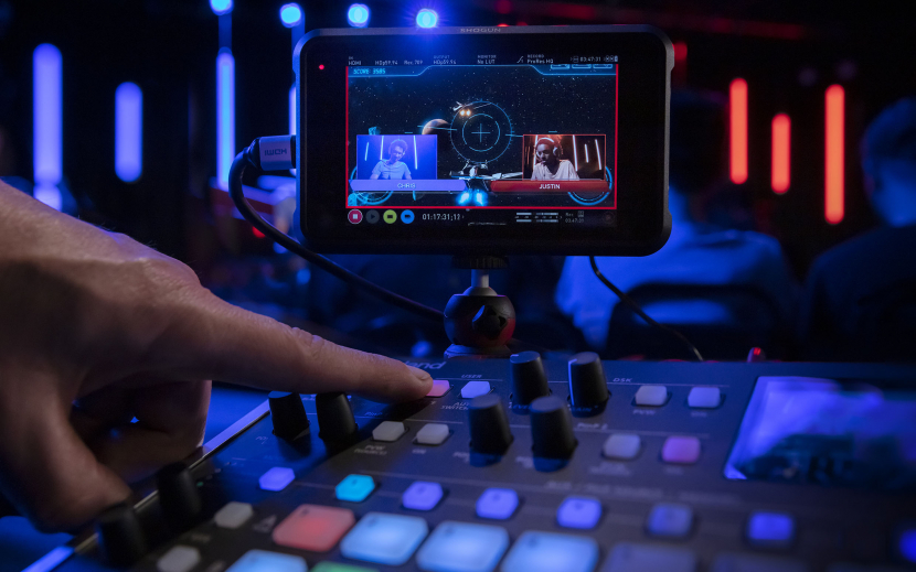 The Roland V-8HD is the smart 8-input, all HDMI video switcher designed to simplify HD live production.