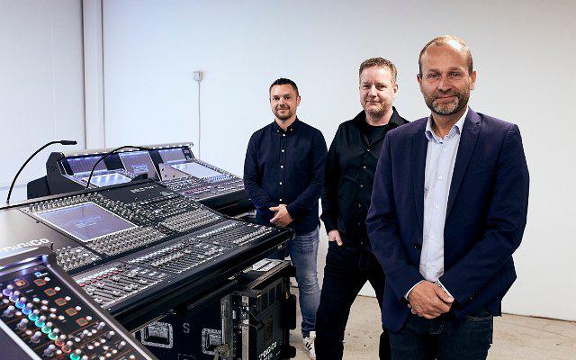 L R Martin Norbaek, Kim Johansen and Torben Pedersen.