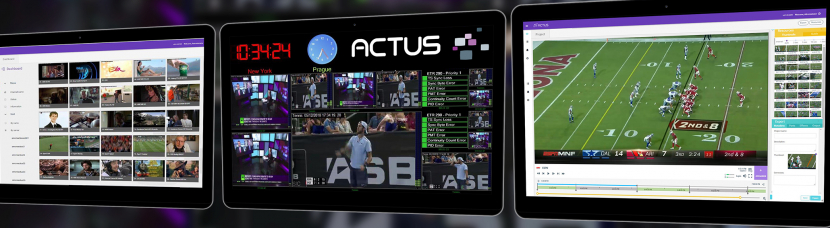 The Actus Digital Media Platform.