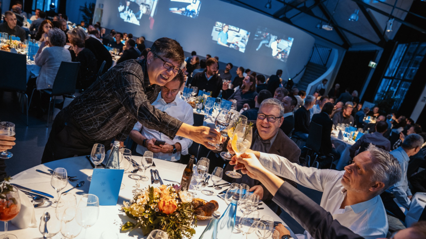 Lawo's 300-plus employees were treated to a Michelin-star studded party in January 2020 to mark the begining of its 50-year celebrations.
