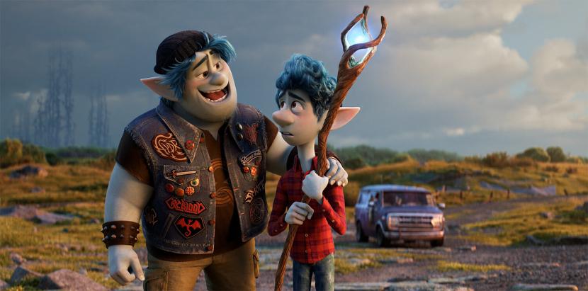 Pixar's Onward is one of the highest grossing films in 2020.