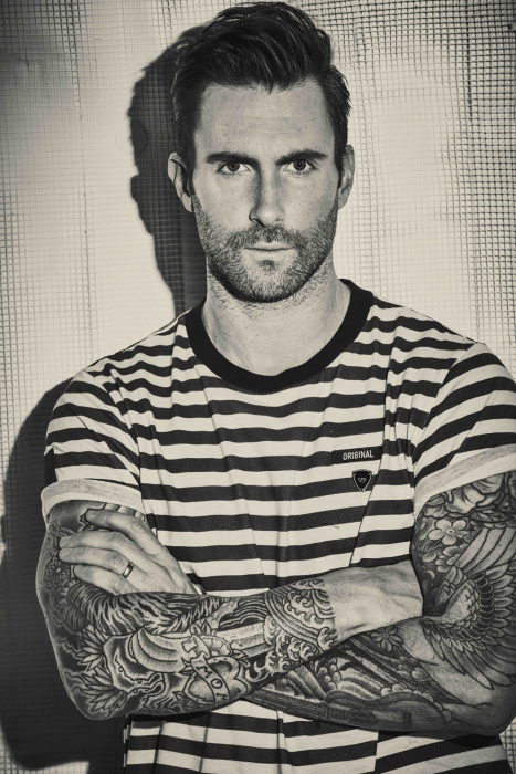 Adam Levine has been long associated with Shure.