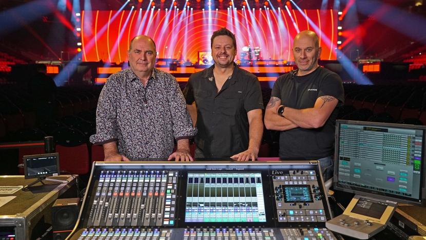 Sound at live events, Solid State Logic, Celine Dion, CEline dion tour