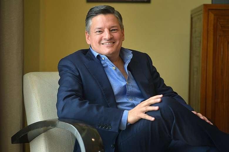 Ted Sarandos.