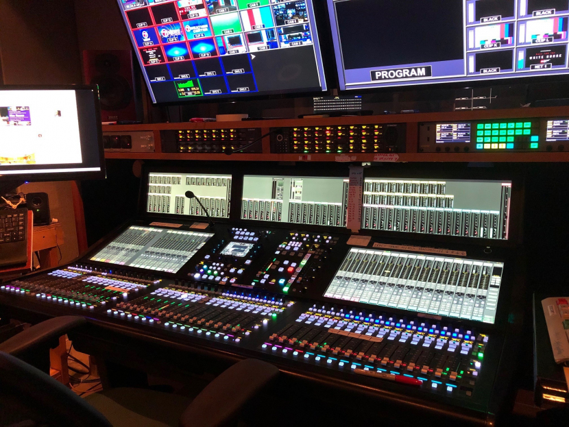 Solid State Logic, Broadcast audio consoles, WHDH technical set-up