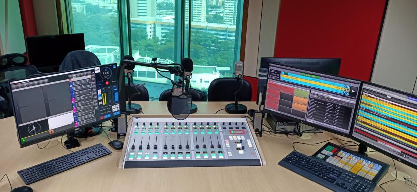 Broadcast audio consoles, Radio audio consoles, Lawo, So Drama Entertainment and Lawo, Digital Radio, Radio stations in Singapore