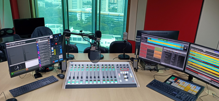 Broadcast audio consoles, Radio audio consoles, Lawo, So Drama Entertainment and Lawo, Digital Radio, Radio stations in Singapore