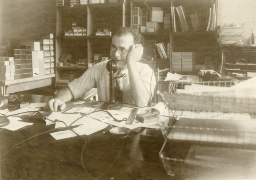 Company founder S.N. Shure pictured in the year 1926.