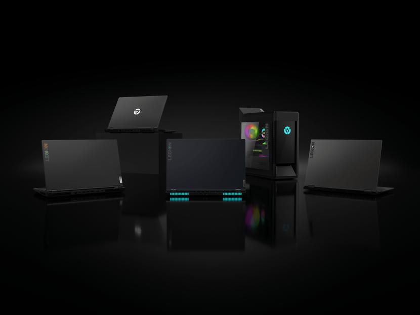 Lenovo Legion's line up of PCs and laptops.