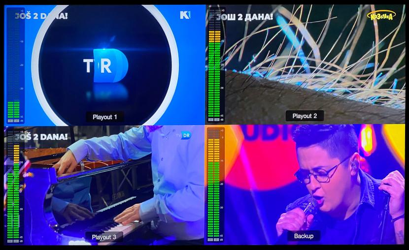 Broadcast technology, Live video broadcast technology, PlayBox Neo