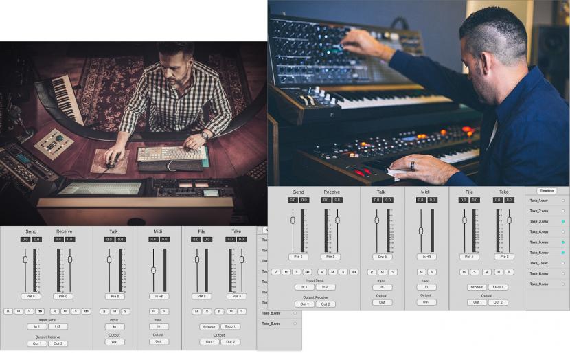 Soundwhale, Audio, Audio applications, Audio capture, Audio control
