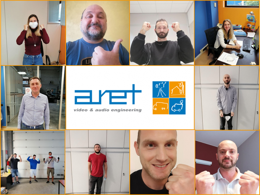 Members of ARET Video and Audio Engineering