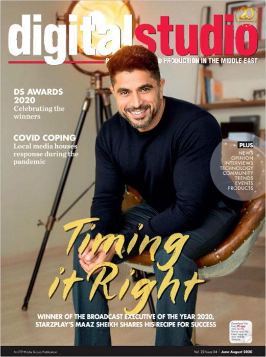 Maaz Sheikh, co-founder and CEO, StarzPlay is our cover story for the June-August issue.
