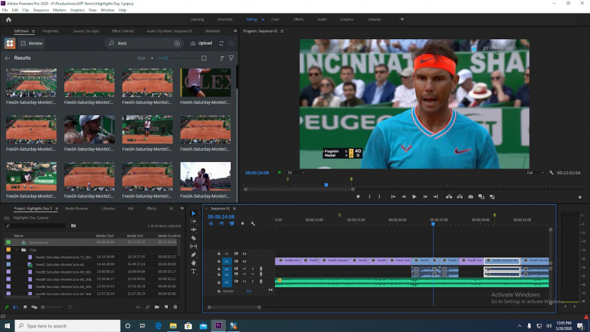 Editshare Adobe Premiere Pro workflow, Production, Production workflow, Adobe premiere pro, Editshare, Video editing, On-premise storage