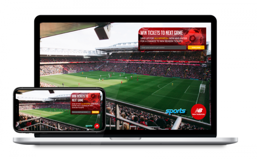 Promethean TV's sports stat overlay is an interactive home viewership experience.