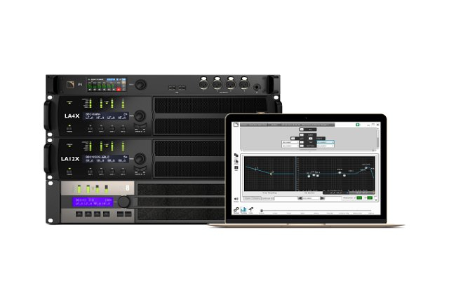 The new L-Acoustics M1 suite, now integrated within LA Network Manager 3, works with the manufacturer's P1 processor and amplified controllers to offer streamlined system tuning and live monitoring.