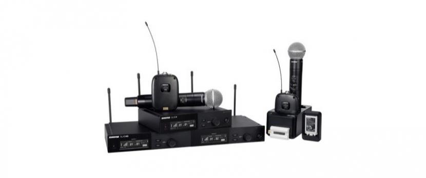 Shure wireless microphones, Shure, Microphones, Audio