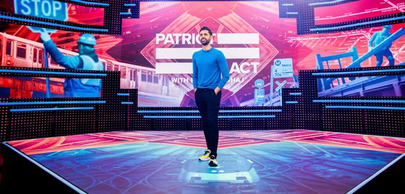 Netflix cancels Patriot Act Hasan Minhaj, Patriot Act, Hasan Minhaj, Netflix