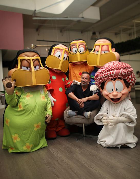 Freej, Mohammed saeed harib, Arabic animaion, Emirati cartoon, Reel Talks Dubai Studio city, Reel Talks