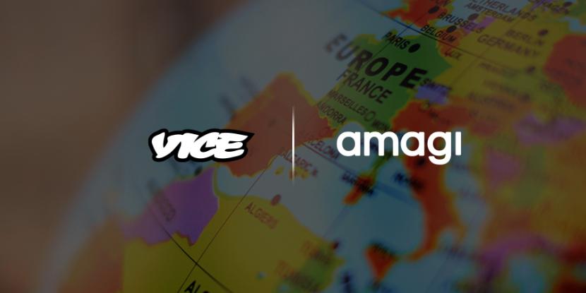 Amagi, Cloud-based broadcast technology, Broadcast, Vice TV