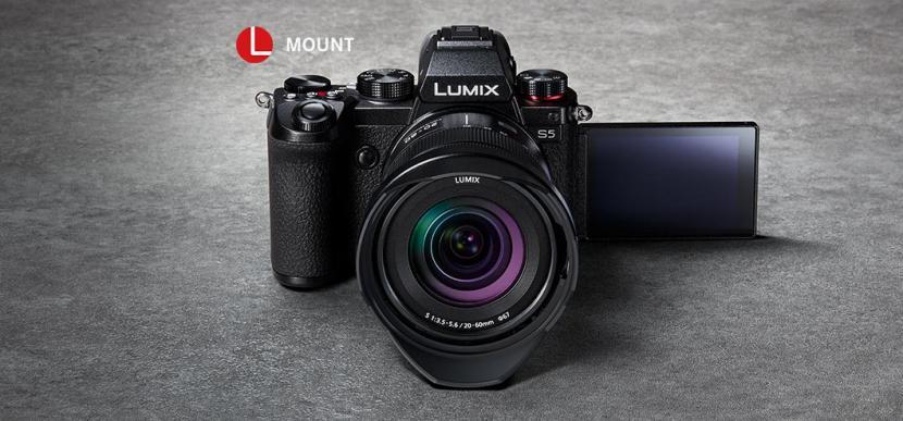 Panasonic Lumix S5, 4K cameras, Panasonic cameras, Photo and video cameras